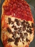 Half Sausage, Half Pepperoni